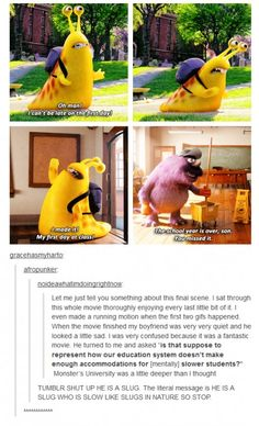 Monster's University Was Overanalyzed By People On The Internet.