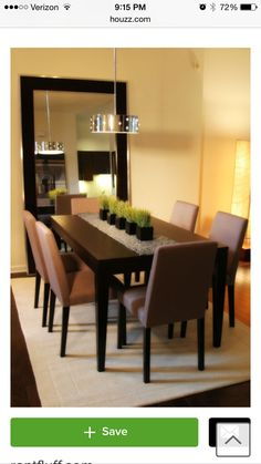 When Decorating A Dining Room You Need To Put The Accent On Table If Want Make Lovely With Big And Dramatic Statement