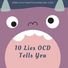 Ocd Therapy, Anxiety Therapy, Play Therapy, Therapy Ideas, Speech Therapy, Ocd Thoughts, Obsessive Thoughts, Ocd In Children, Ocd In Kids