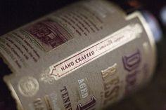 George Dickel Label Design
