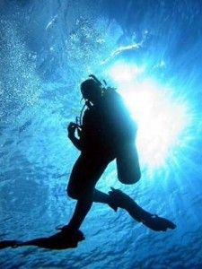 "The hours I have spent in salty water are what keep me balanced. Best place to scuba dive?  Definitely Kwajalein, Marshall Islands. Worst place?  As long as you are diving there is no ""worst place""!  The contentment, the peace, the adventure.. I cannot put into words the magic of scuba diving."