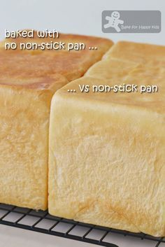 Bake for Happy Kids: Very Moist and Soft Japanese Milk Square Toast Bread / Shokupan 食パン Asian Bread Recipe, Milk Bread Recipe, Banana Bread Recipes, Bread Toast, Bread Bun, Square Bread Recipe, Shokupan Recipe, Pullman Bread, Japanese Milk Bread