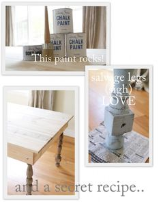 How to: refurbish furniture with aged paint look