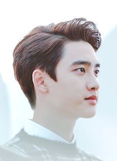 """""""Be believing, be happy, don't get discouraged. Things will work out. Kyungsoo, Angels Beauty, Exo Korean, Exo Do, Do Kyung Soo, Kpop Exo, Exo Members, Park Chanyeol, Korean Singer"""