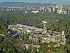 El Castillo de Chapultepec - Mexico City