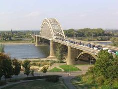 "Nijmegen Bridge, Holland. WWII battle. Operation Market Garden (A Bridge Too Far)  ""It was Nijmegen"" Great Places, Places Ive Been, Holland, Operation Market Garden, Dutch Food, Travel Around Europe, Famous Photos, European Tour, Military History"