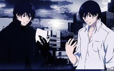 Hei and Yin from the anime Darker than Black.