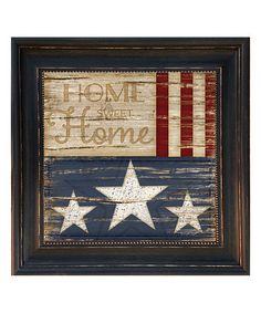Look at this #zulilyfind! Home Sweet Home Framed Print #zulilyfinds