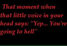 That moment when that …..