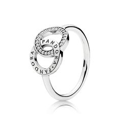 0a8b78913 PANDORA | PANDORA Circles Ring, Clear CZ Pandora Rings For Sale, New Pandora ,