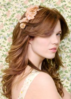 Heart Mandy Moore and super heart the hair color