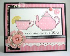 The Queen's Scene: SSSC118 - Shabby Pink Tea