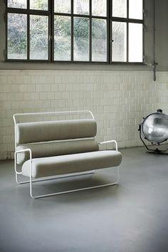 Contemporary sofa by Achille Castiglioni SANCARLO Tacchini