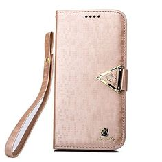 92 best galaxy s6 edge case images samsung galaxy s6, beautyularmo s6 edge case, s6 edge cover, s6 edge wallet cover, luxury leather flip stand wallet cover with card slot for samsung galaxy s6 edge g9250 (rose gold)