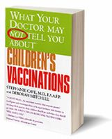 What your doctor may NOT tell you about children's vaccinations, $14.95   http://www.demosschiropractic.com/chiropractic-store.cfm#