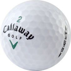 awesome 36 MINT Callaway HX Hot Bite Used Golf Balls - 3 Dozen - Like New Condition (AAAAA)