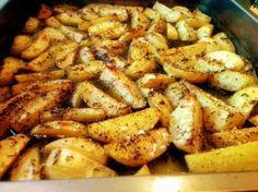 Det här är verkligen bland de bästa potatisreceptet jag vet. Jag brukar kalla receptet pappas potatis eftersom det är han som gjort denna klassiker år in och år ut hemma i vårt kök. Potatisen ska...