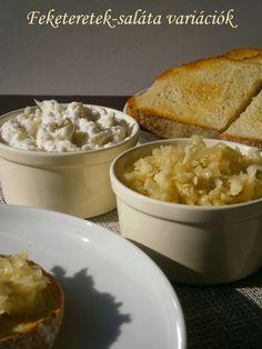 fekete retek saláták Cornbread, Ethnic Recipes, Food, Millet Bread, Essen, Meals, Yemek, Corn Bread, Eten
