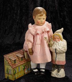 """""""Interlude"""" - Marquis Catalogued Auction - March 11, 2017: 205 Early German Cloth Character Doll by Kathe Kruse"""