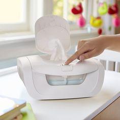 Munchkin Mist Wipe Warmer Baby Comfort Holds 100 Fresh Wipes for sale online