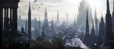 ArtStation - Gothic Megalopolitan, Jaime Jasso