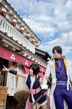 Rurouni Kenshin - Misao & Aoshi - Cosplay (published by yayoi on Cure WorldCosplay)