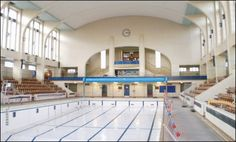 Want to buy a gorgeous 1937 art deco swimming pool? Well the Bon Accord Baths is up for grabs. Despite a major campaign to save it, the pool was closed by Aberdeen City Council in 2008 and property… Granite City, Aberdeen Scotland, City By The Sea, Visit Britain, Silver City, North Sea, Swimming Pools, Art Deco, Mansions