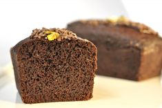 Egg free, lactose free, cholesterol free, moist chocolate pound cake