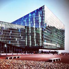 #Harpa architecture Iceland Islandia Reykjavik -  Photo by@luisroberto