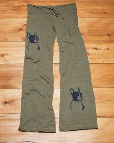 you handsome devil Boston Terrier Lounge Pants, Yoga Pants, Cute Pajamas, S,M,L,XL by nicandthenewfie on Etsy https://www.etsy.com/listing/94454582/you-handsome-devil-boston-terrier-lounge