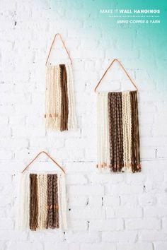 DIY wall hanging | designlovefest