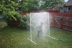 DIY Crazy Water Sprinkler