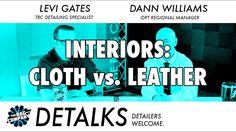 DETALKS - Detailing Interiors: Cloth vs. Leather