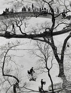 © André Kertész, Avenue de l'opéra vue de haut, Paris, 1929
