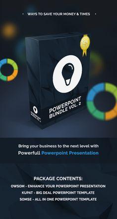 Powerpoint Bundle Template #design Download: http://graphicriver.net/item/powerpoint-bundle-vol-2/12323685?ref=ksioks