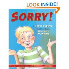 "Great book about how saying ""sorry!"" is not enough"