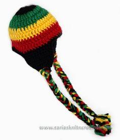 Handmade Rasta Hat for Boys and Girls-Crochet Rasta Hats for 3-6 month | sariasknitncrochet - Children's on ArtFire