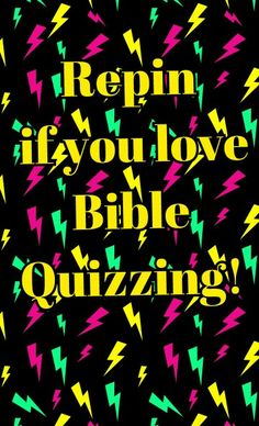Bible Quizzing Quotes by Quenna Garrett