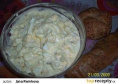 Rychlý vajíčkový salát recept - TopRecepty.cz
