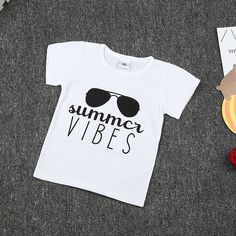 >> Click to Buy << summer 2017 New Kids clothes cotton short-sleeved boys t shirts letter glasses print t shirt kids boys Clothing #Affiliate