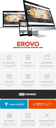 Erovo Theme Features