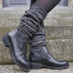 New Fashion Comfortable Low Heel Wool Warm Boots Warm Boots, Chunky Boots, Chunky Heels, Snow Boots, Women's Boots, Ankle Boots, Mid Calf Boots, Knee High Boots, Plus Sise