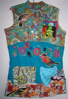 Frida's Mexican Garden Wearable Art COLLAGE by mybonny