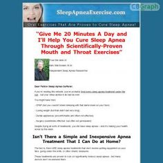 [GET] Download The Sleep Apnea Exercise Program Bonus! : http://inoii.com/go.php?target=apneaexer