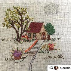 @claudiaroveri #embroidery #bordado #ricamo #broderie #handembroidery #needlework