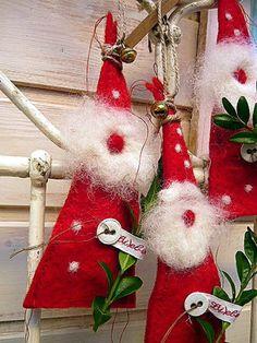 Nikolaus & Weihnachtsmann - Liebenswerter *Nikomann* - ein Designerstück von Liebenswert bei DaWanda
