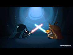 Angry Birds Star Wars: Obi Wan & Darth Vader - exclusive gameplay