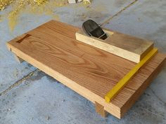 Japanese Planing Board w/Sliding Dovetails