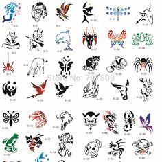 tattoo Stencil animal Book Airbrush stencils Template Booklet Book ... Tattoo Stencils, Pencil Art Drawings, Airbrush, Booklet, Sketches, Templates, Tattoos, Animals, Drawings