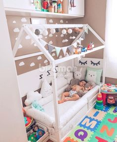 Excellent simple ideas for your inspiration Boy Toddler Bedroom, Toddler Rooms, Baby Boy Rooms, Baby Bedroom, Kids Bedroom Designs, Baby Room Design, Boys Room Decor, Baby Decor, Girl Room